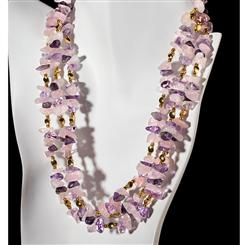 Outré Amethyst Necklace