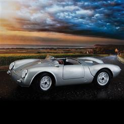 Porsche 550A Spyder (Light grey)