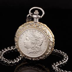 Morgan Silver Dollar Pocket Watch