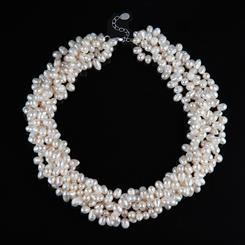 Pearl Couture Torsade Necklace