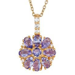 Lovestruck Tanzanite Necklace