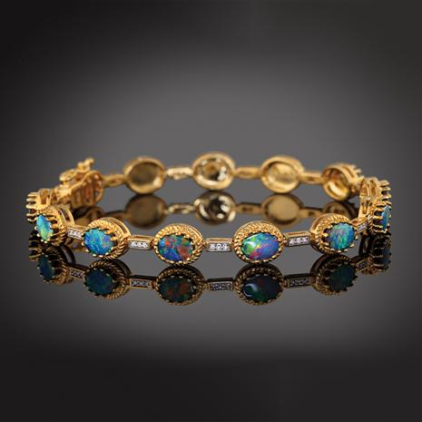 Fire and Ice Collection Bracelet