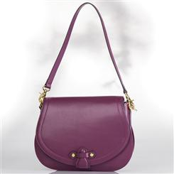 Mauve Saddle Bag