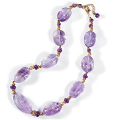 Chiarascuro Amethyst Collection Necklace