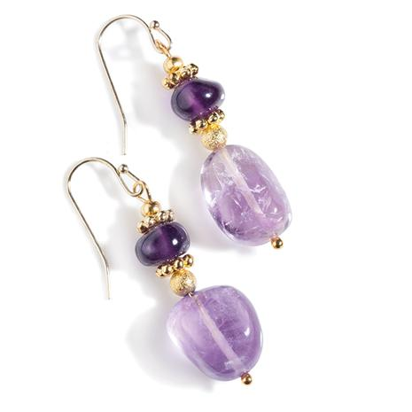 Chiarascuro Amethyst Collection Earrings