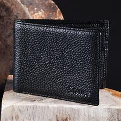 RFID-Blocking Leather Wallet
