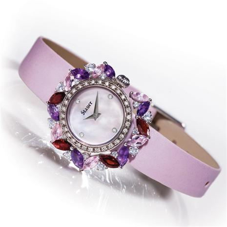 Ladies Fleur de Amethyst Watch