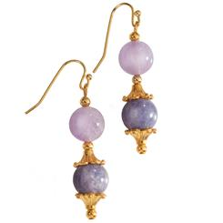 Navigator Amethyst & Iolite Earrings