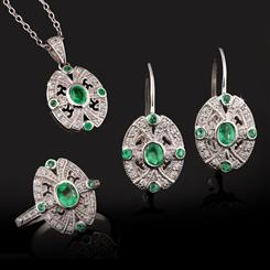 Moderne Emerald Collection