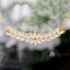 Marquise DiamondAura Necklace