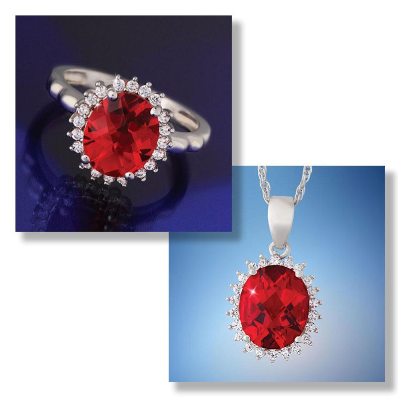 Red Hot Helenite Collection