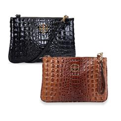 Sloane Crocodile-Embossed Collection