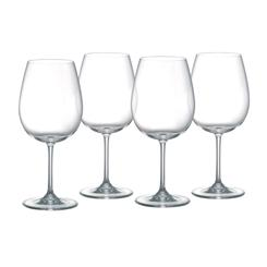 Vintage Entertaining Red Wine Glasses