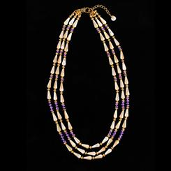 Egyptian Queen Amethyst Necklace
