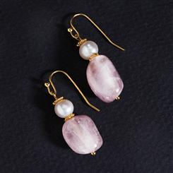 Virtuoso Kunzite Earrings