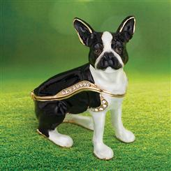 French Bulldog Jewelry Box