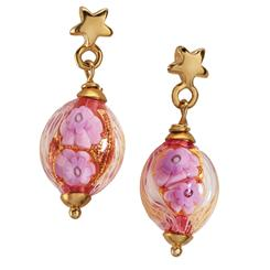 Fiorire di Murano Earrings