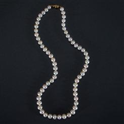 Freshwater Cultured Pearl Necklace (6.5-7.5mm)