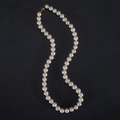 Freshwater Cultured Pearl Necklace (7.5-8.5mm)