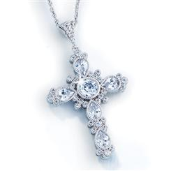 Divine Cross Pendant