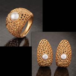 Trezze Ring and Earrings