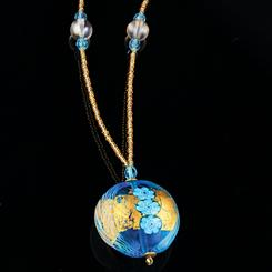 Tuscan Sky Murano Collection Necklace