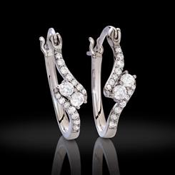 DiamondAura Forever Infinity Earrings