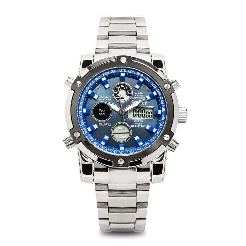 chronograph flyboy from stauer mens com men watches blue watch s category