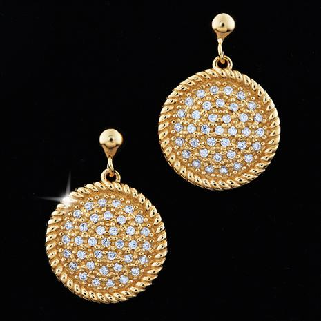Scintilla D'Oro Earrings