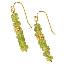 Varanasi Peridot Earrings