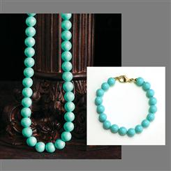 Turchese di Perfetto Necklace and Bracelet