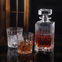 Marquis by Waterford Double Old Fashioned Pair & Decanter