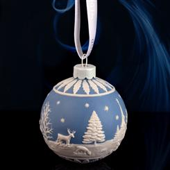 Wedgwood Winter Country Ornament