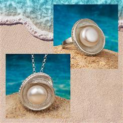 Nautilus Shell Pearl Collection