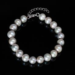 Silver Pearl Collection Bracelet