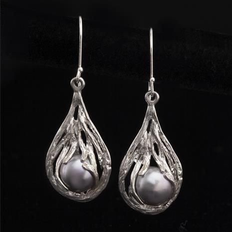 Holy Land Pearl Earrings