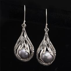 Holy Land Pearl Collection Earrings