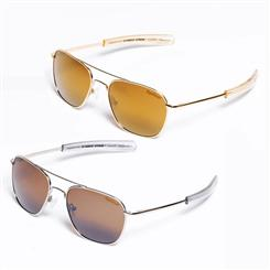 Top Gear Throttle Sunglasses Set of Two (Gold and Silver)