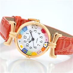 Venezia Murano Watch Collection (Burnished Orange)
