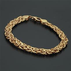 Aria Bracelet (Yellow Gold over Sterling Silver)