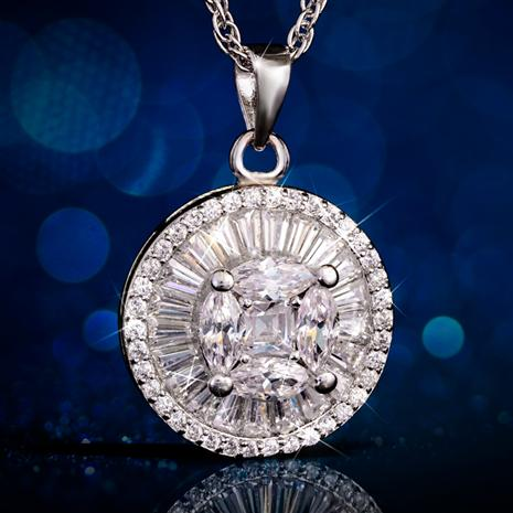 DiamondAura Fancy Cut Pendant