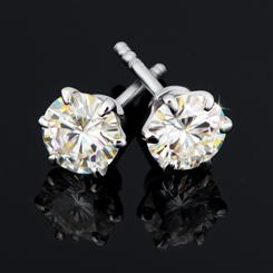 ULTRANOVA Moissanite Collection Stud Earrings (.5 CTW)