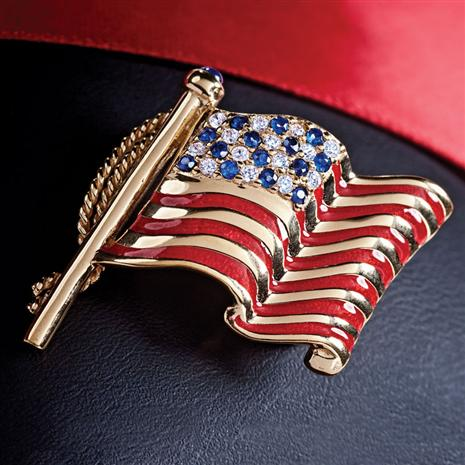 Old Glory Pin/Pendant