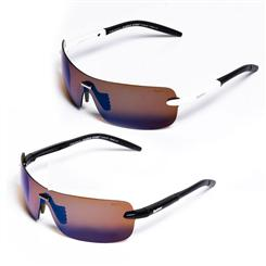 Top Gear STIG Sunglasses set of Two (Black/Gold & STIG White/Iridium)
