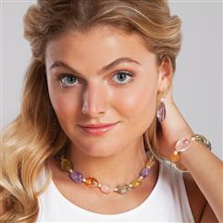 Summers Bounty Collection (Necklace, Bracelet and Earrings)