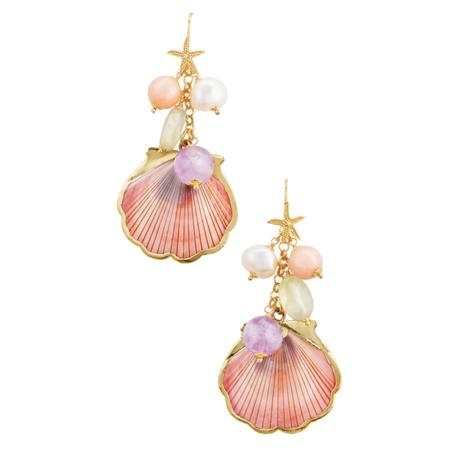 Spiaggia Rosa Collection Earrings