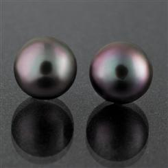 Oyster Kiss Tahitian Pearl Collection Stud Earrings