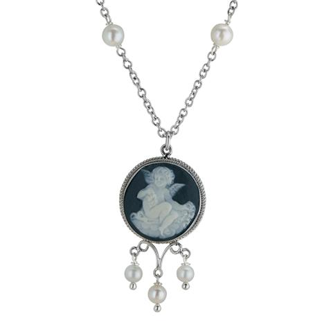 Cherubino Cameo Collection Necklace (18
