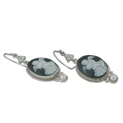 Cherubino Cameo Collection Earrings