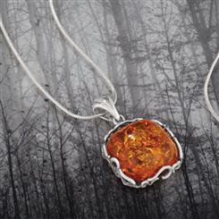 Amber Romance Necklace